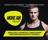MORE AIR - nenälaastari